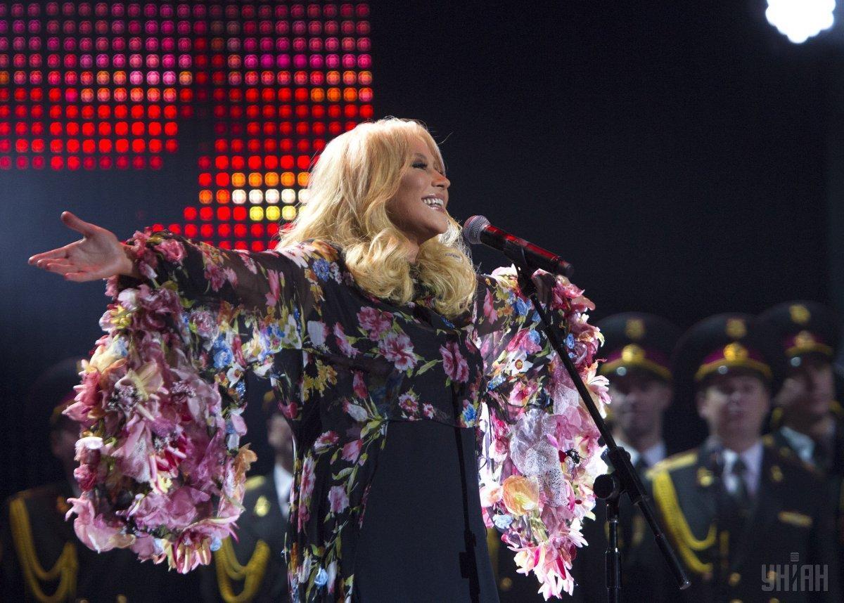 Повалий выступила в Москве / фото УНИАН