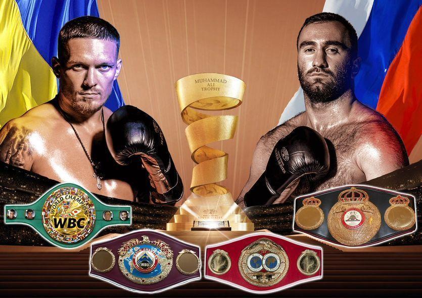 Усик і Гассієв будуть битися в Саудівській Аравії / isport.ua/boxing