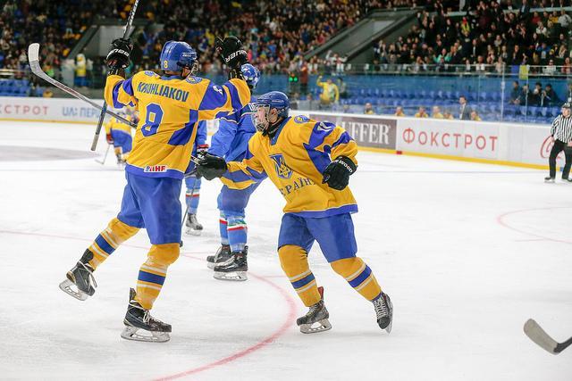 Украина - Италия - 3:1 / Фото Андрея Басевича