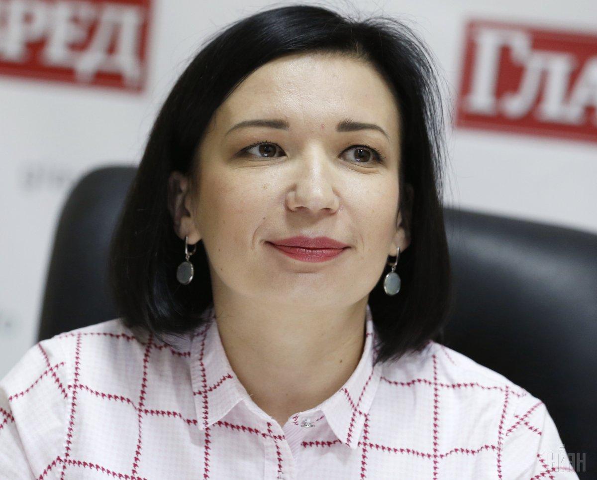 Айвазовська: Поновлення довіри буде в руках членів новообраної комісії / Фото УНІАН