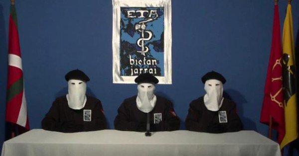 Баскская террористическая организация ETA объявила опланах самороспуска