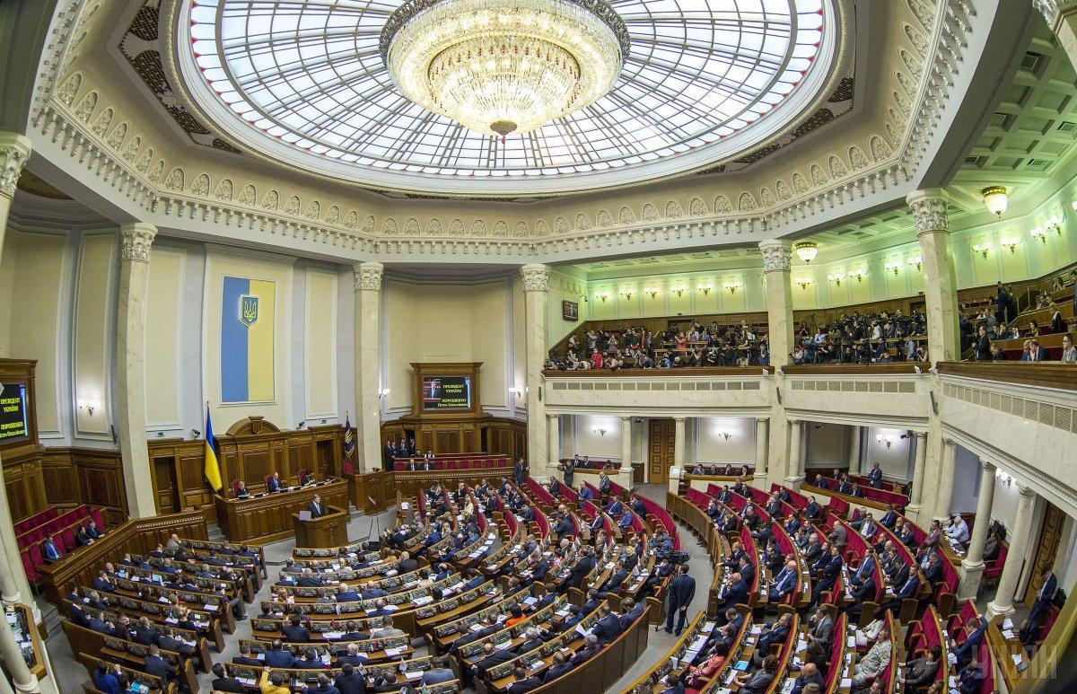 Рада приняла документ после рассмотрения почти двух тысяч правок / фото УНИАН