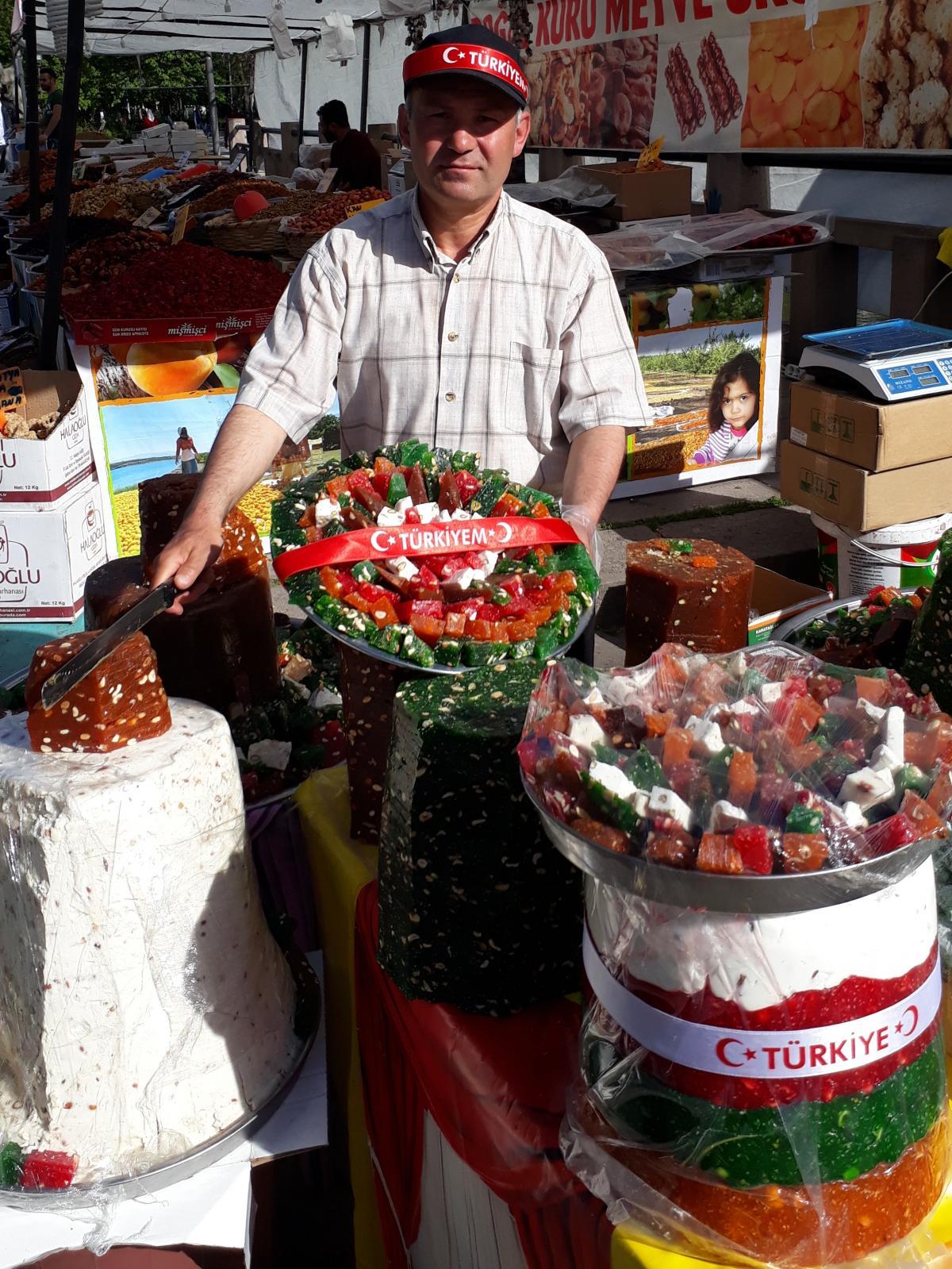Рынок в Анкаре / фото Надежда Клименко