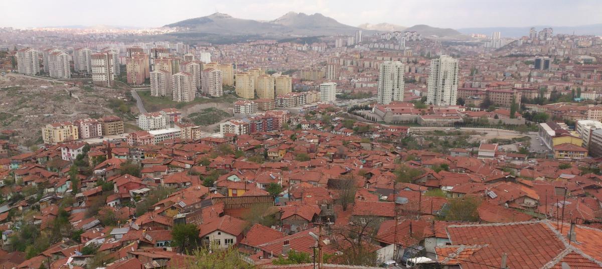 Вид на город с крепости Анкары / фото Надежда Клименко
