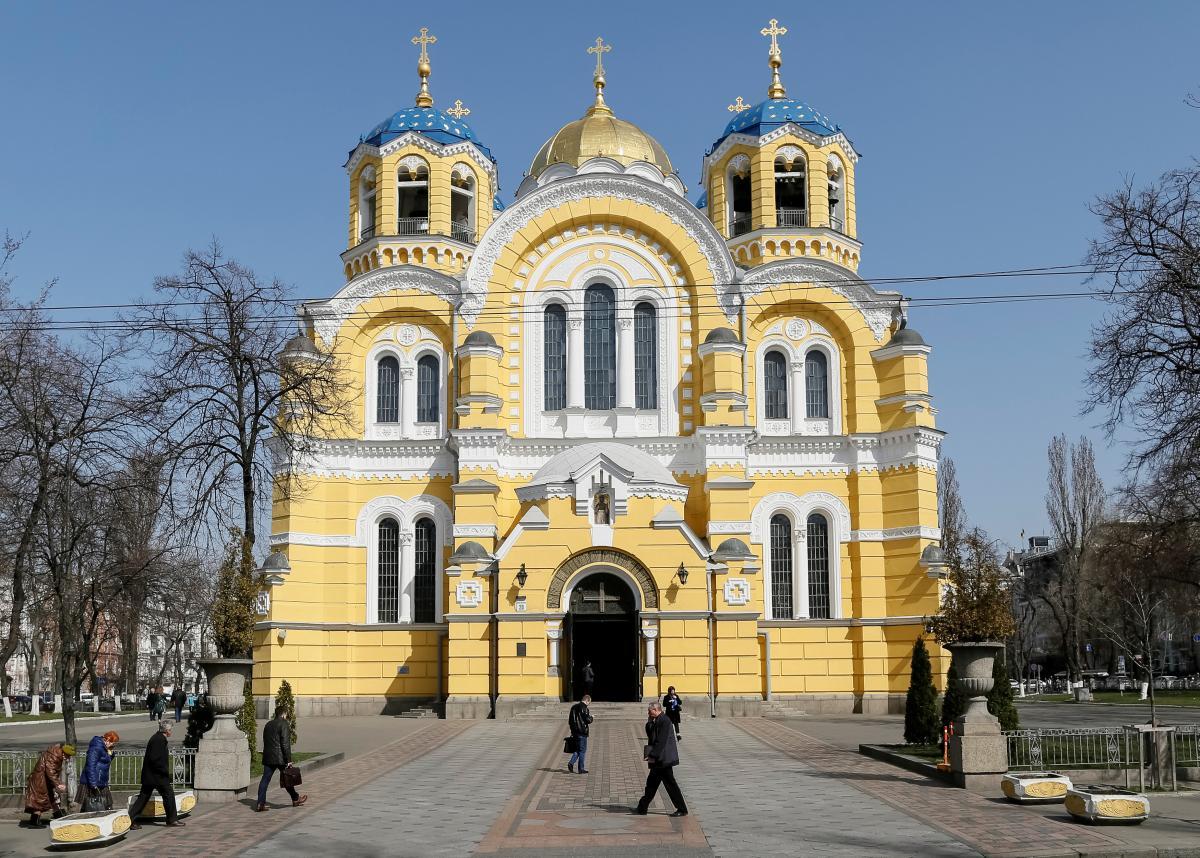 Володимирський собор в Києві / REUTERS