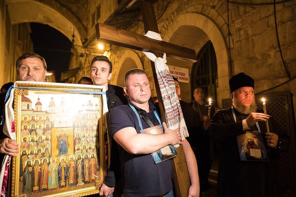 Паломники вірять, що молитва про мир буде почута Господом / Анна Горпинченко