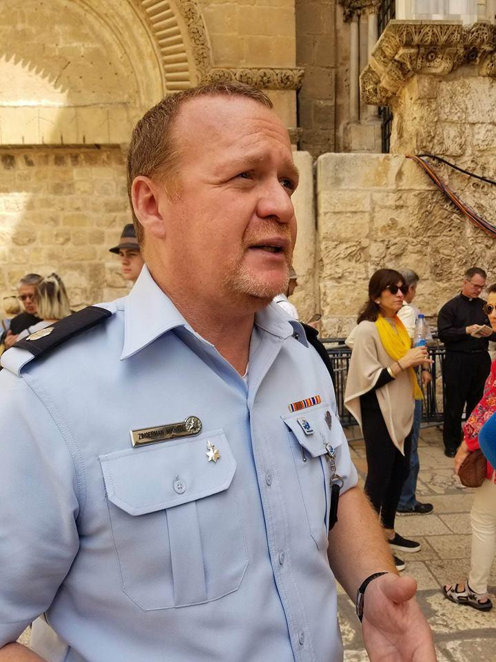 Прес-секретар поліції Ізраїлю Міхаель Зингерман / Анна Горпинченко