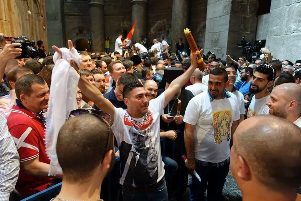 Арабська православна молодь – обов'язкові учасники церемонії / Анна Горпинченко
