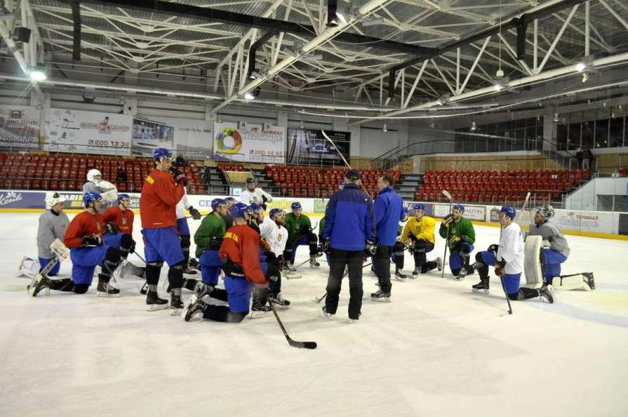 Сборная Украины отправляется на чемпионат мира по хоккею в Литву / uhl.com.ua