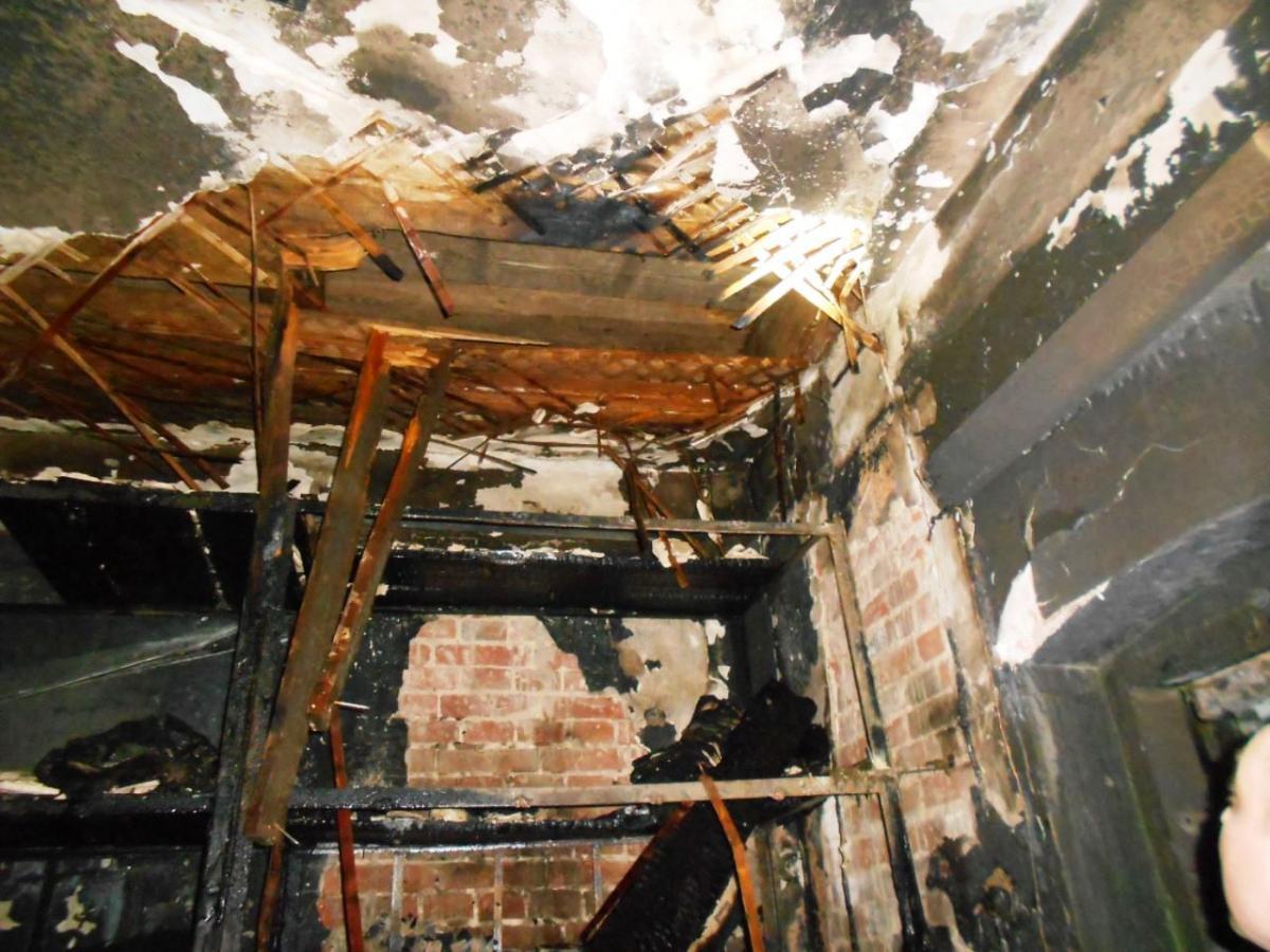 Десятки людей эвакуировали из-за пожара вСИЗО Чернигова