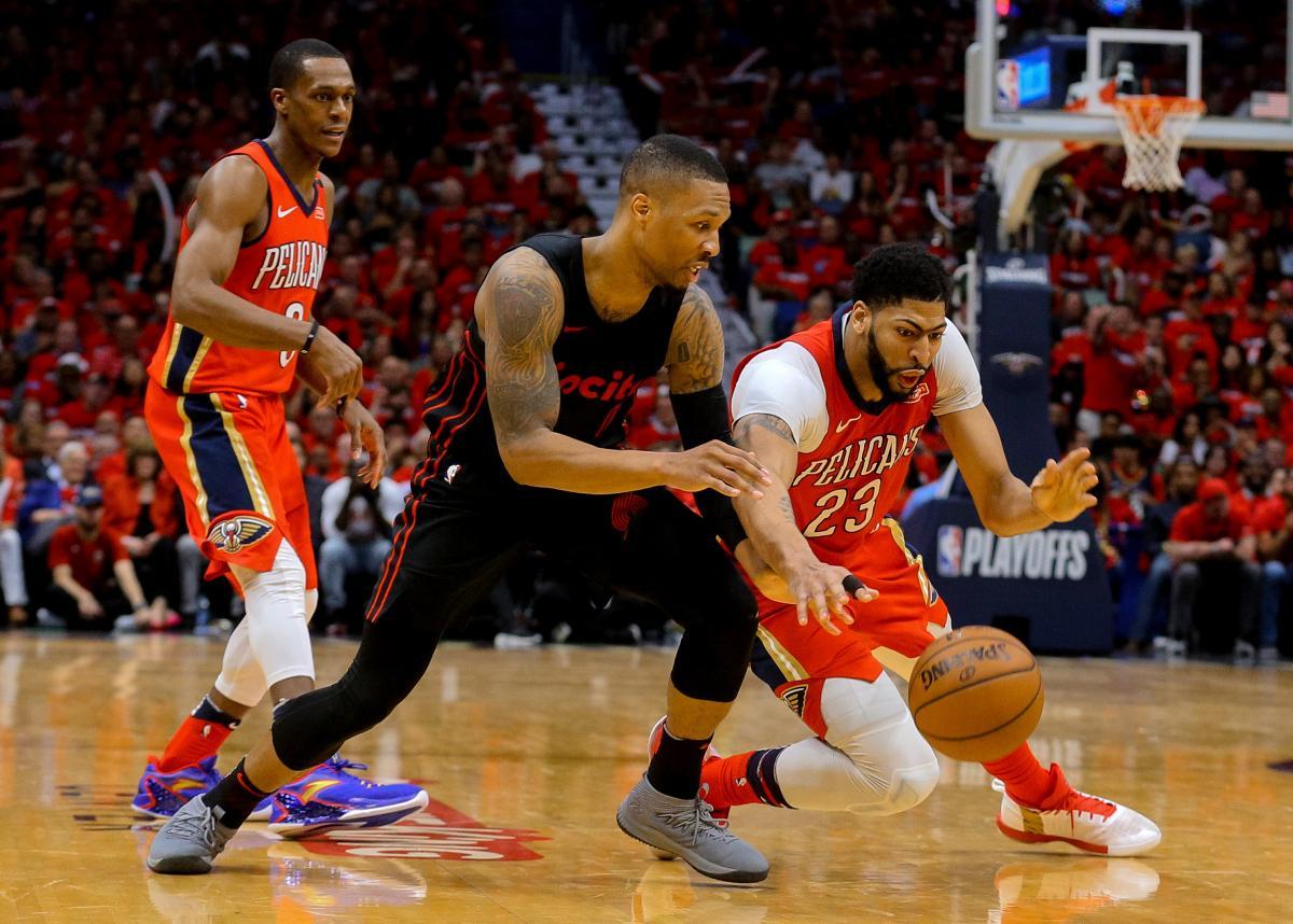 """""""Нью-Орлеан"""" виграв у """"Портленда"""" всі чотири матчі першого раунду плей-офф / Reuters"""
