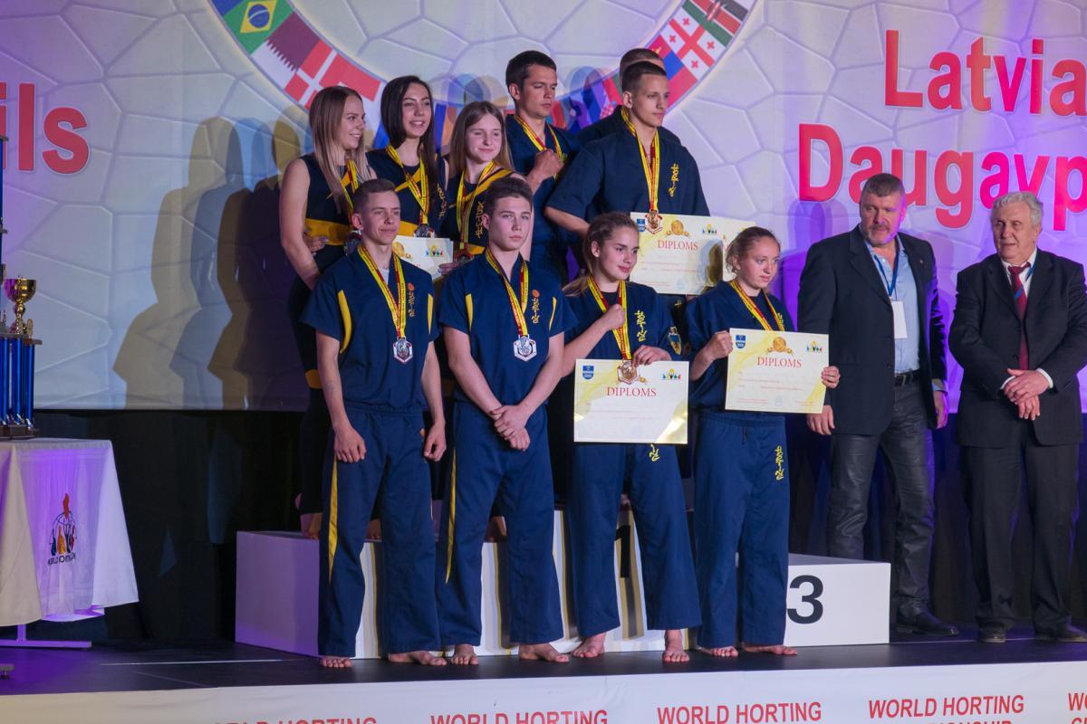 Збірна України выграла III Чемпіонат світу з хортингу / Муравський Максим
