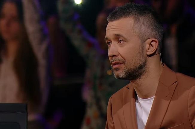 Бабкин расплакался во время выступления Луценко / Скриншот
