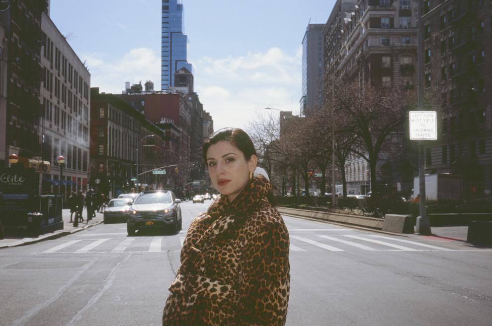 Світлана Бевза в Нью-Йорку / фото Vogue.ua