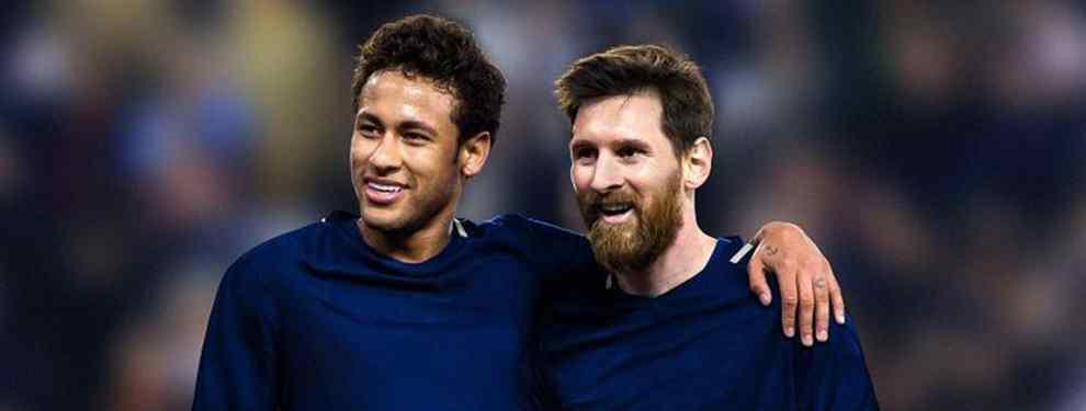 """Мессі і Неймар є великими друзями з часів спільних виступів за """"Барселону"""" / donbalon.com"""