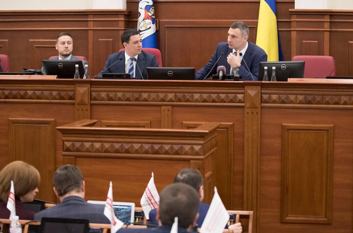 Киеврада должна принять решение, которое обеспечит работу ТЭЦ-5, ТЭЦ-6 и завода «Энергия», заявил Кличко / kiev.klichko.org