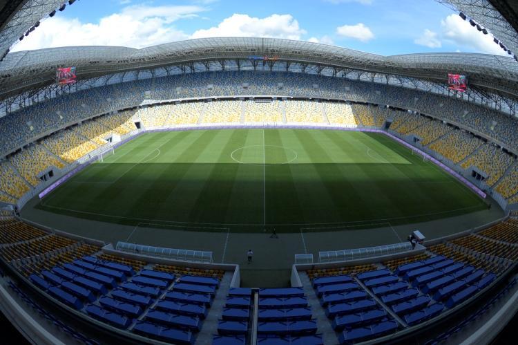 Арена Львов будет принимать матчи Лиги Европы / фото: УАФ