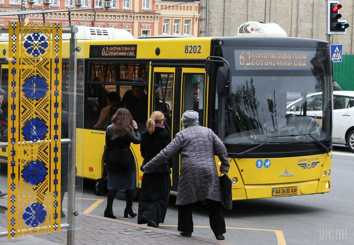 У Києві зміняться маршрути громадського транспорту / фото УНІАН