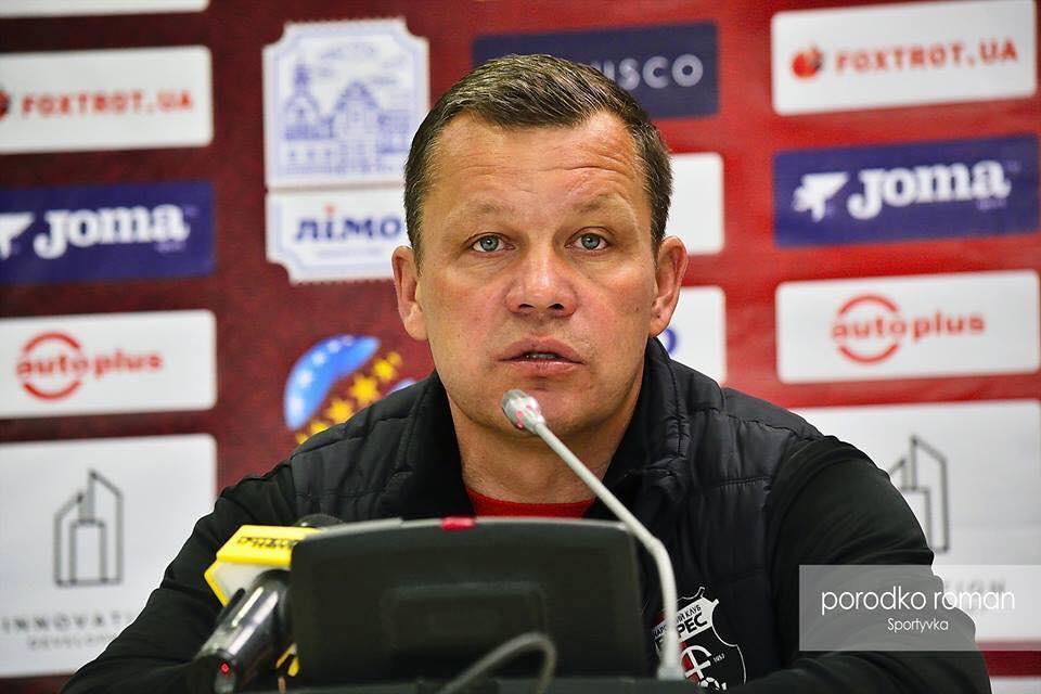 """Свірков покинули пост главного тренера """"Вереса"""" / facebook.com/veres.club"""