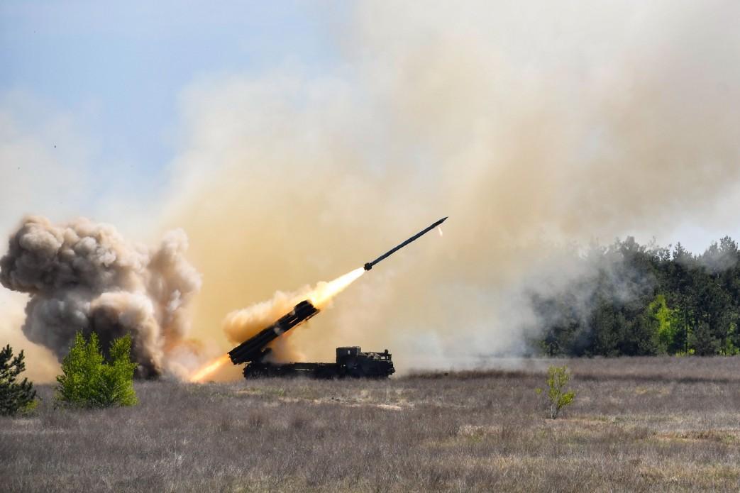 """Реактивные системы залпового огня """"Ольха"""" - это — новое поколение артиллерии / mil.gov.ua"""