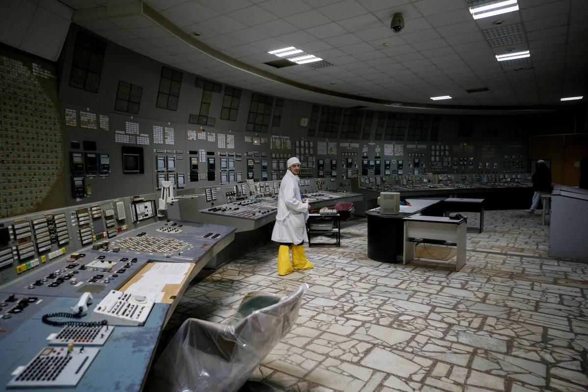 Чернобыльская АЭС / REUTERS