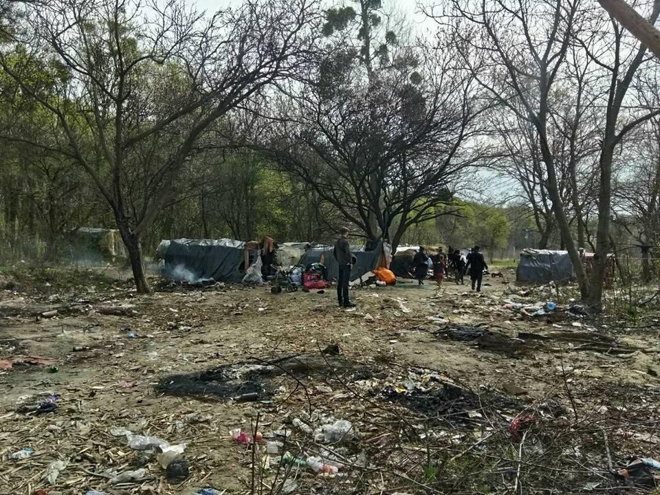 Лагерь цыган в Киеве, иллюстрация / фото Сергей Мазур, Facebook