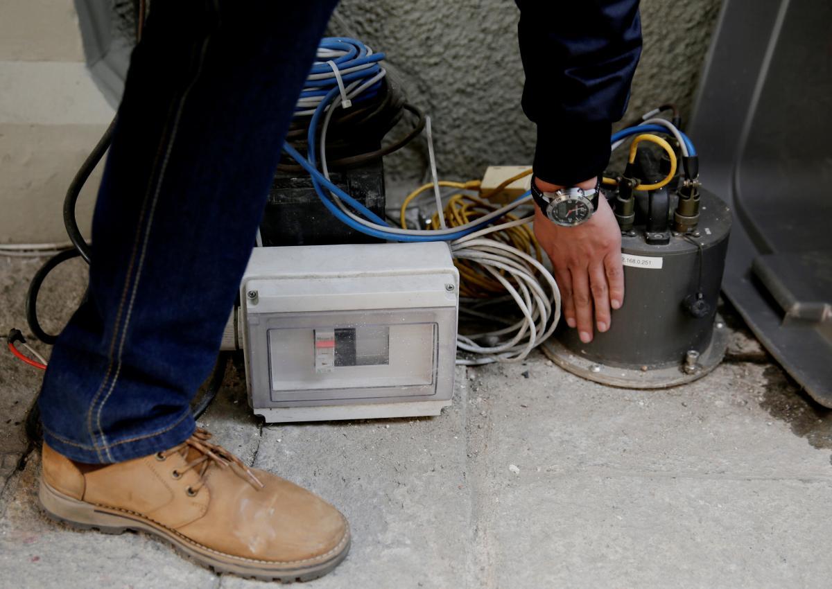 У берегов Греции произошло землетрясение / Сейсмограф / REUTERS