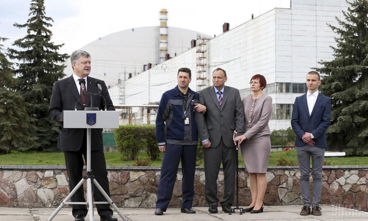 Порошенко: Украина получит ядерную независимость от РФ