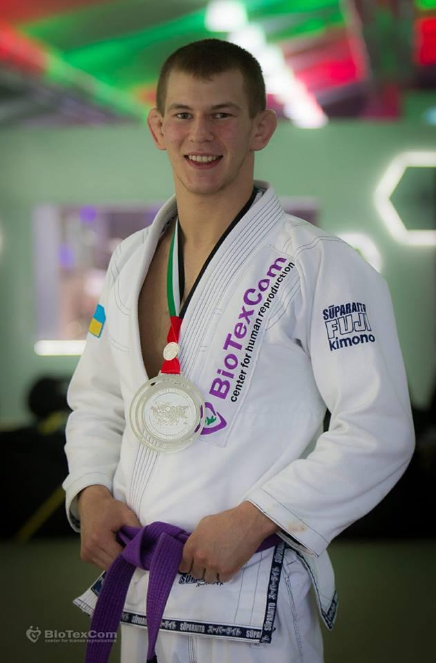 Ярослав Блажко стал вице-чемпионом мира по джиу-джитсу / facebook.com