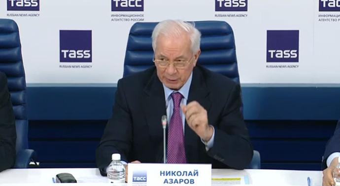 Mykola Azarov is no longer on the sanctions list/ Photo from pravda.com.ua