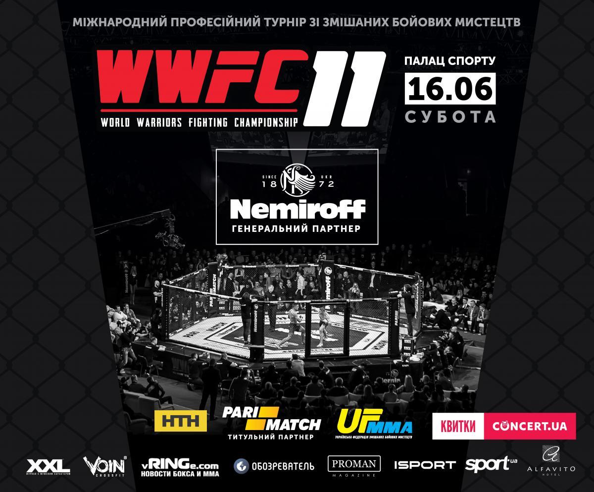 WWFC 11 відбудеться в Києві в червні