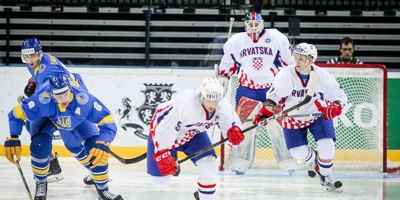 Хоккеисты сборной Украины стали авторами курьеза на чемпионате мира / IIHF.com