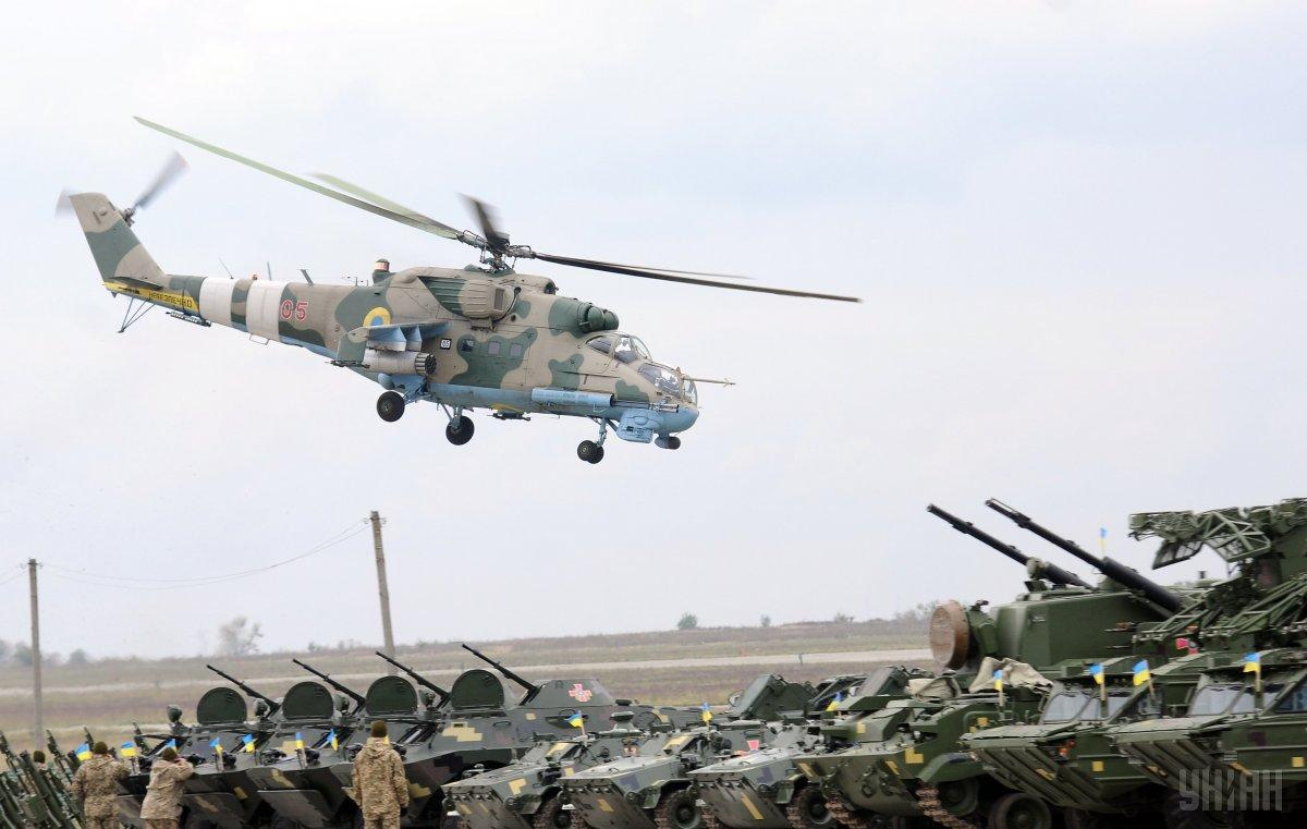 Лётные испытания лопастей украинского производства прошли на вертолётах Ми-24 / фото УНИАН