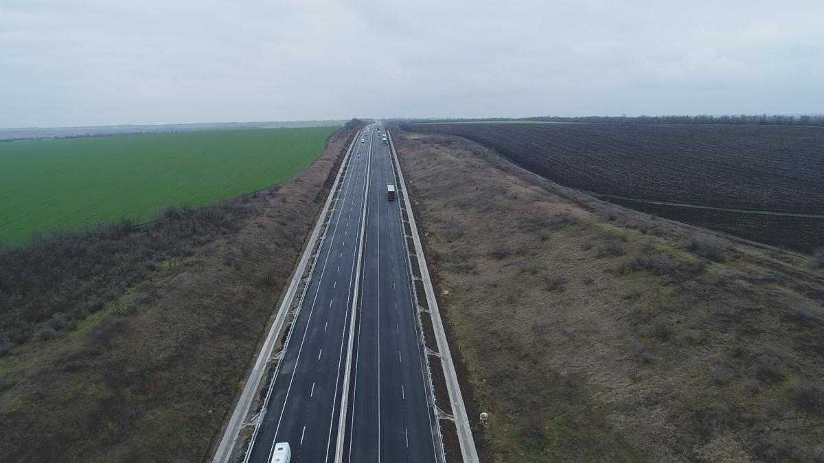 Аварійний ремонт на дорозі М-05 буде завершено до 1 травня / фото ukravtodor.gov.ua