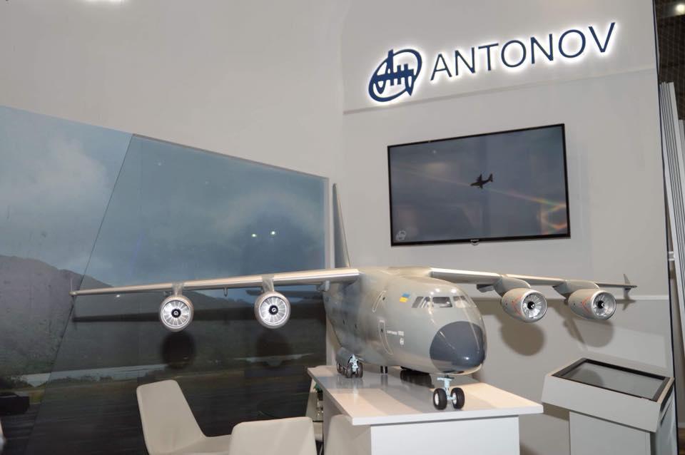 «Антонов» представил украинско-турецкий проект военного самолета / фото facebook/antonov