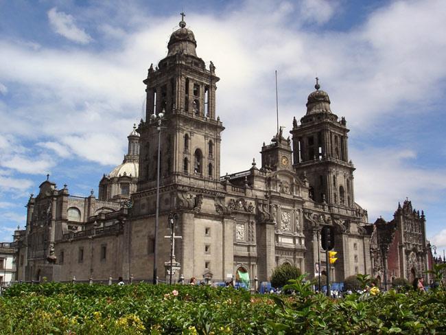 Мексика, Центральный кафедральный собор, иллюстративное фото / turoved.ru