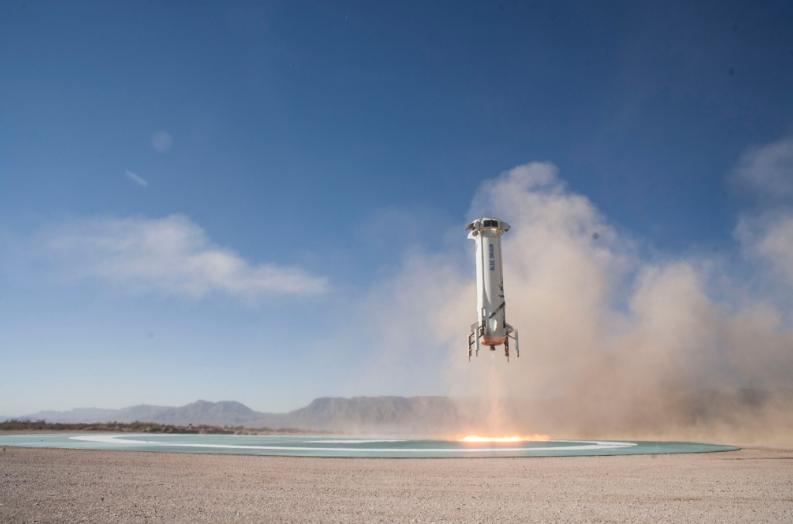 Компания Blue Origin собирается запустить суборбитальную ракету 29апреля