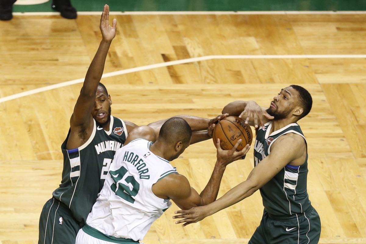 «Бостон» победил «Милуоки» всерии плей-офф НБА