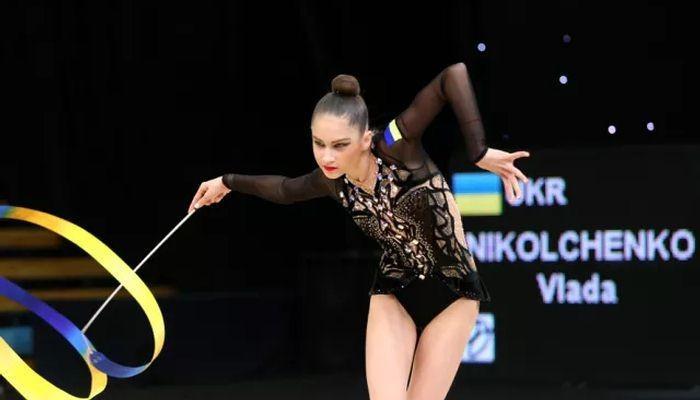 Влада Нікольченко виграла вправу зі стрічкою у багатоборстві Кубка Дерюгіної / ukraine-rg.com.ua