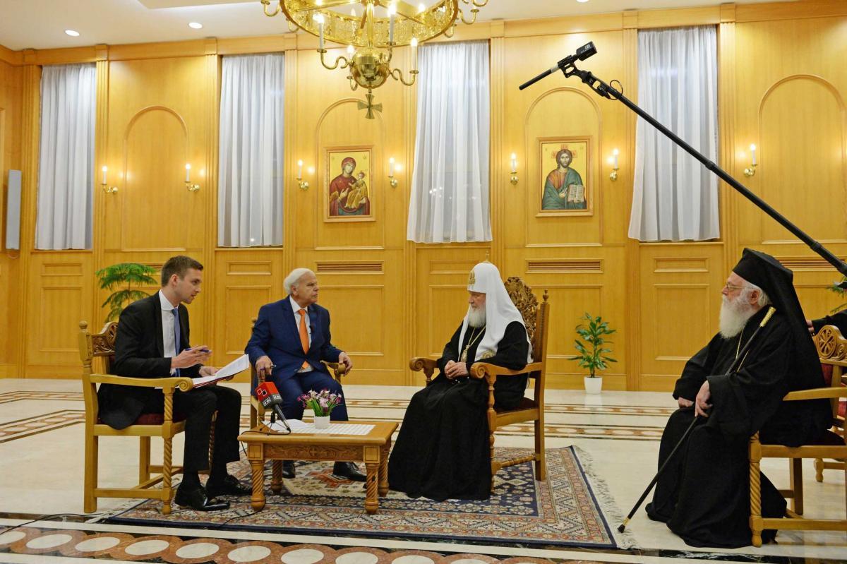 Візит Патріарха Кирила в Албанію / patriarchia.ru