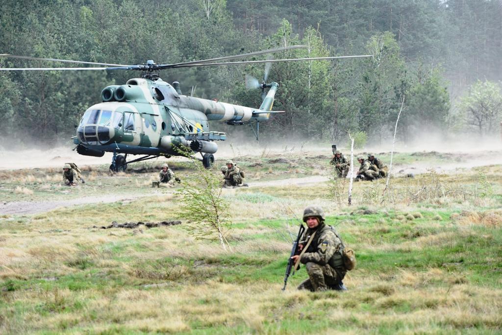 Подразделения Объединенных сил вели активную оборону / фото Міноборони