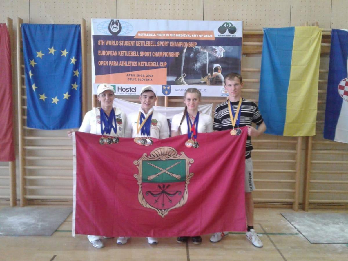 Православні гирьовики із Запоріжжя стали чемпіонами світу / hramzp.ua