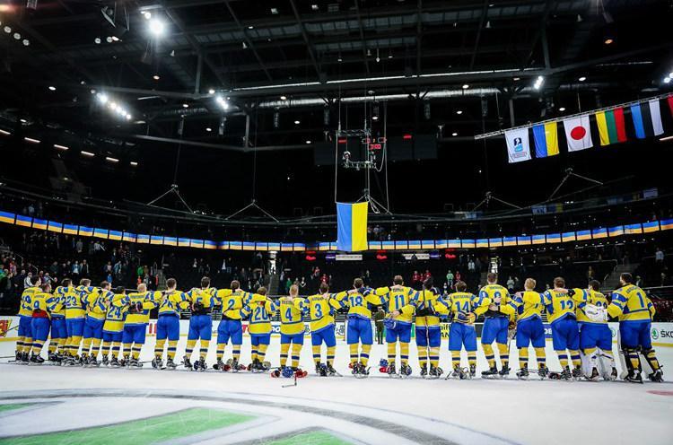 Збірна України з хокею / IIHF