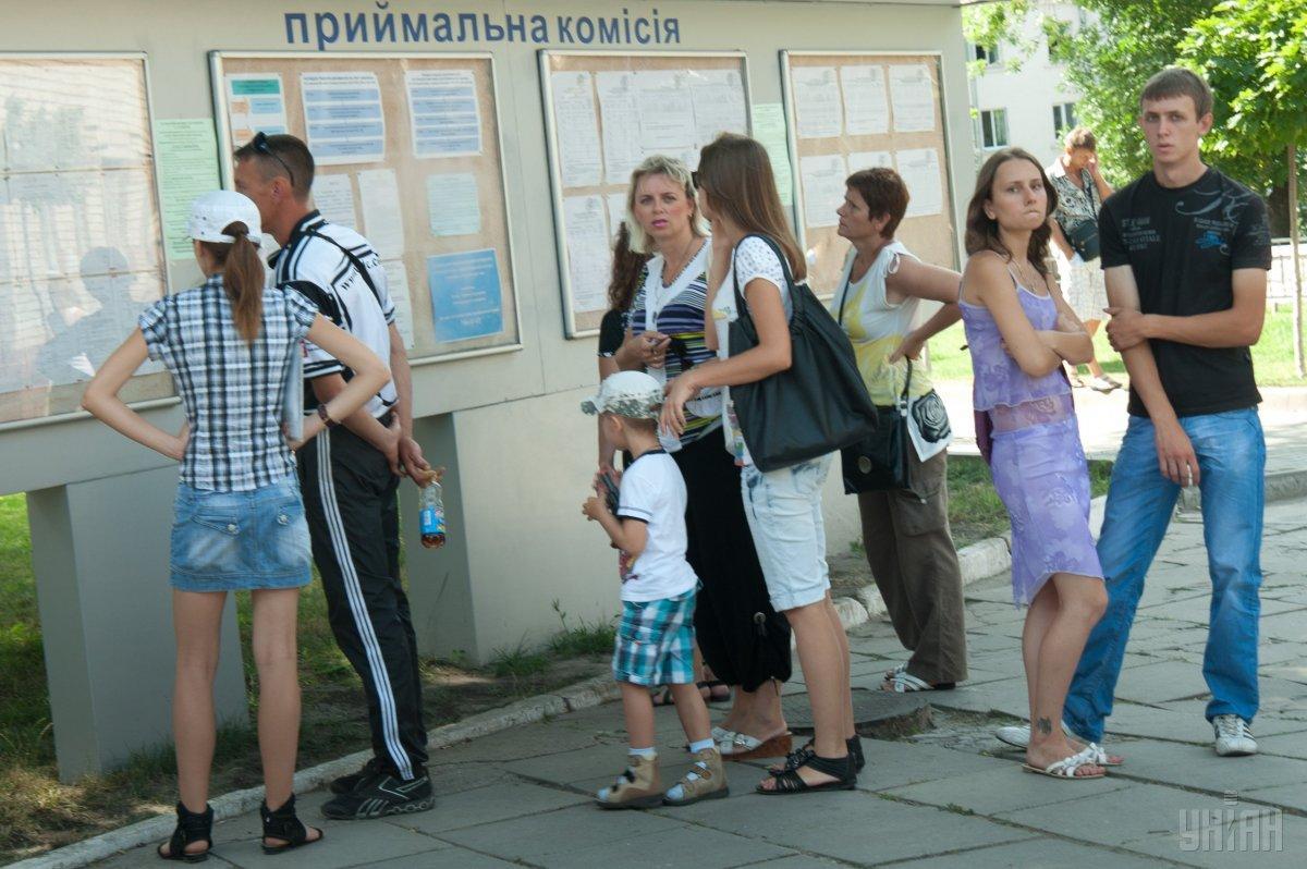 Прием заявлений и документов для поступающихзавершен23 июля / фото УНИАН
