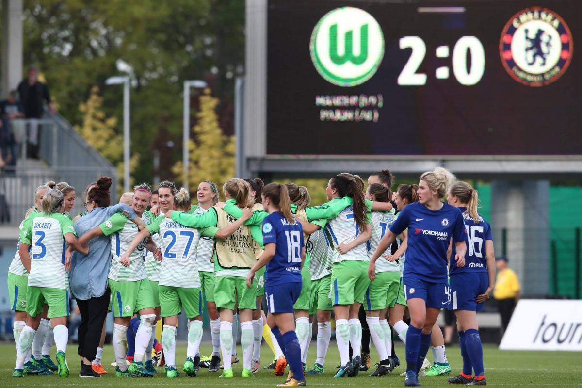 «Лион» и«Вольфсбург» сыграют вфинале женской Лиги чемпионов вКиеве