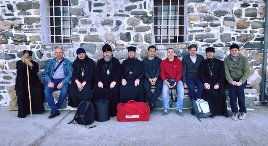 Паломники из Херсона рассказали о своем паломничестве на Афон