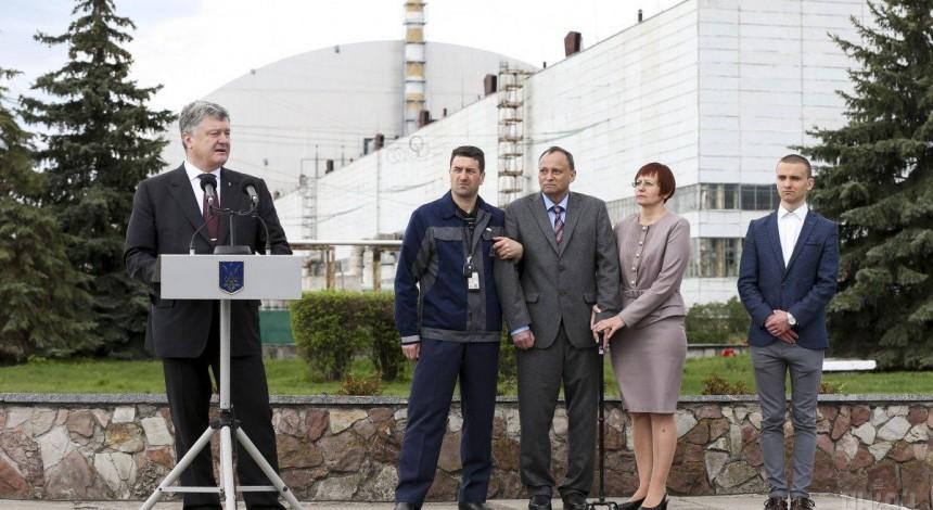 Украина благодаря ЦХОЯТ получит ядерную независимость от России – Порошенко