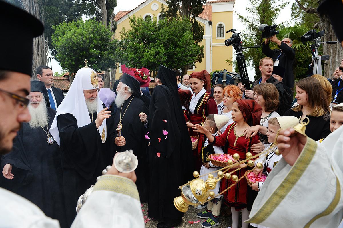 Завершился визит Патриарха Кирилла в Албанию / patriarchia.ru