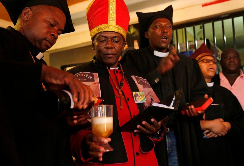 Gabola Church в Йоханнесбурге / knife.media