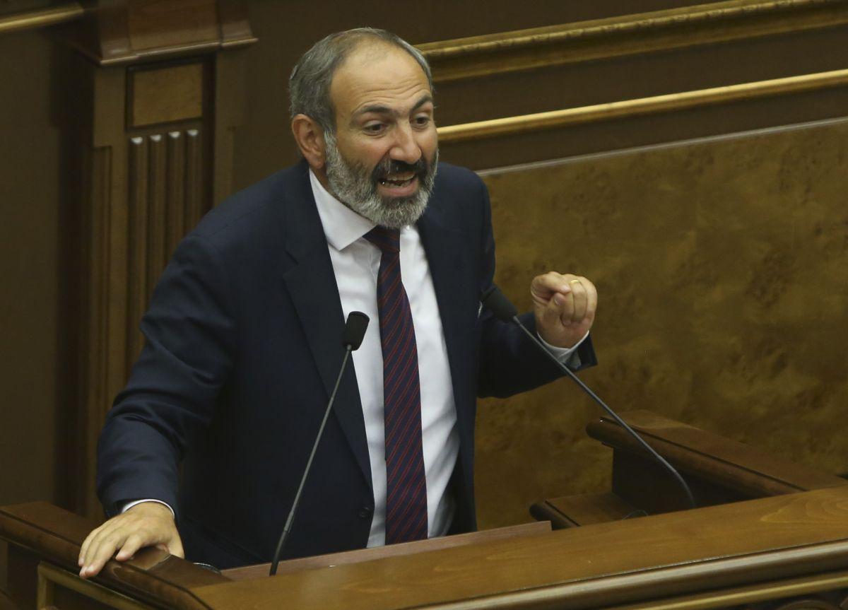 Никол Пашинян уходит с поста / REUTERS